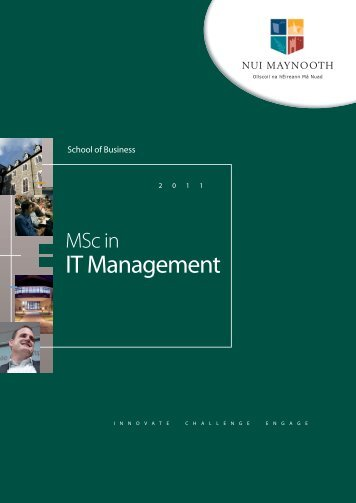 IT Management - Innovation Value Institute - National University of ...