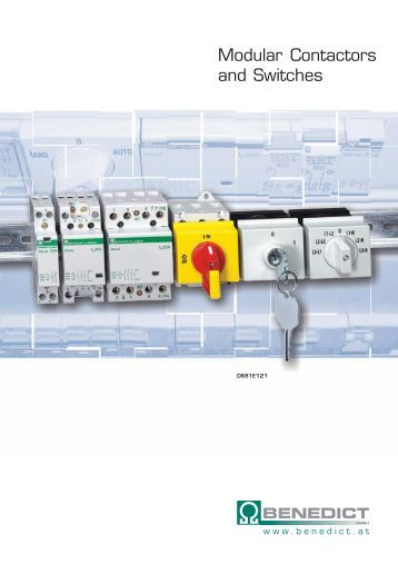 Modular Contactors and Switches