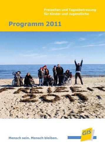 Programm 2011 - bei der gGIS mbH