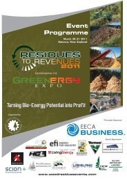Event Programme - Wood Residues