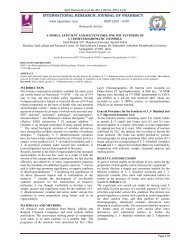 a simple, efficient and solvent free one pot synthesis of 3, 3 ...