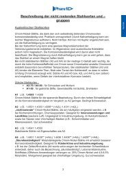 Technische Informationen - Phare 1