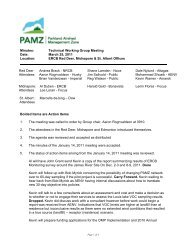 Minutes: Technical Working Group Meeting Date: March 25, 2011 ...