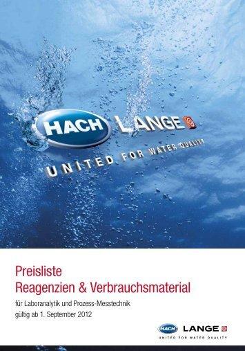 Prozess-Messtechnik - Hach-Lange