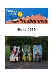 Game 2010 - TC Fraubrunnen