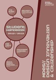Student Handbook | Your 2012/13 Student Guide - Glasgow School ...