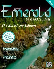 September 2013 - The Emerald Magazine