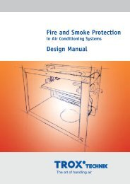 Fire and Smoke Protection in Air Conditioning Systems - Trox