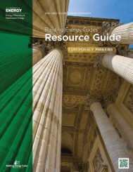 Building Energy Codes Resource Guide for Policy Makers
