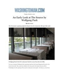 An Early Look at The Source by Wolfgang Puck - Newseum