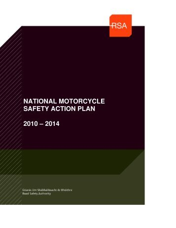 national motorcycle safety action plan 2010 – 2014 - Right To Ride