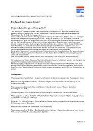 """Die Zukunft des """"blauen Goldes"""" - SPD Ortsverein München-Au"""