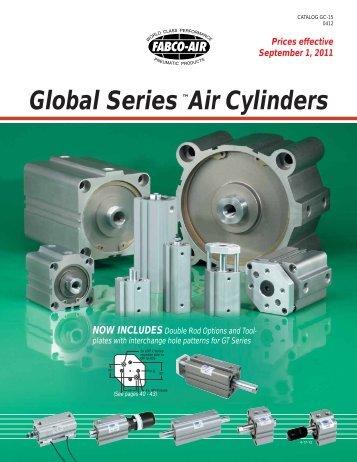 Global Series ™Air Cylinders - Fabco-Air, Inc.