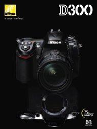 D300 Brochure - Nikon