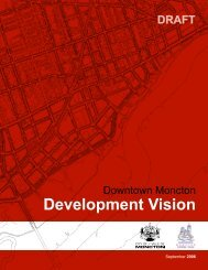 Development Vision - Université de Moncton