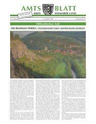 AMTS BLATT - im Kreis Weimarer Land