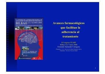 avances farmacológicos que facilitan la adherencia al tratamiento