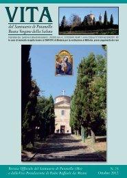 RIVISTA 23 (ottobre 2012) - Santuario di Puianello
