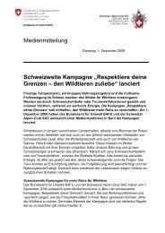 """Schweizweite Kampagne """"Respektiere deine Grenzen – den ..."""