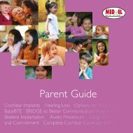 Parent Guide - Med-El