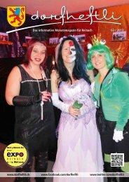 Das informative Monatsmagazin für Reinach 02 / 2013 - dorfheftli
