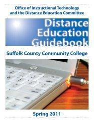 2011 DE Guidebook - Suffolk County Community College