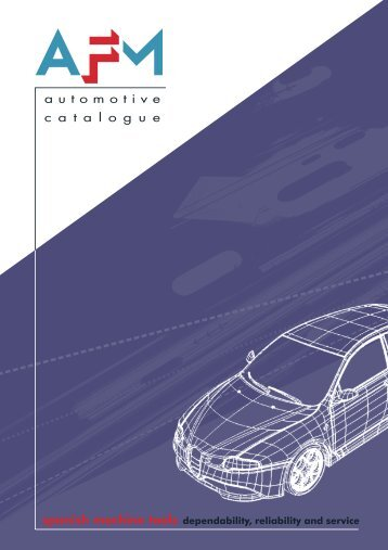 automotive catalogue - AFM