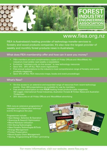 membership - Forest Industry Engineering Association