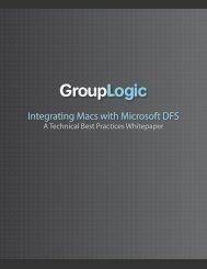 Integrating Macs with Microsoft DFS - GroupLogic