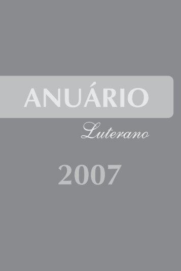 Anuário Luterano 2007 - Igreja Evangélica Luterana do Brasil