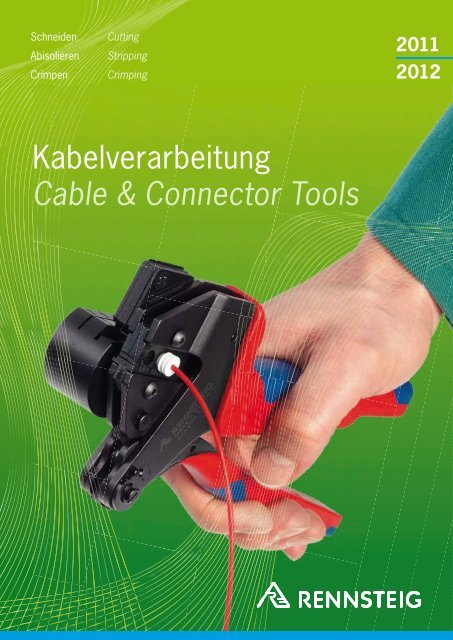 Kabelverarbeitung Cable & Connector Tools