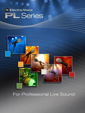 PL Full Brochure 3.54 MB - Electro-Voice