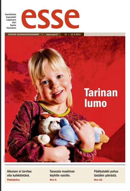 Esse 11/2012 (pdf) - Espoon seurakuntasanomat