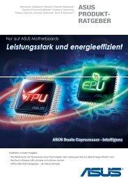 Leistungsstark und energieeffizient - Asus