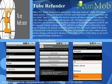 Tube Refunder - RunMob