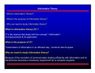 Information Theory - What is Information Theory? - What is the ...