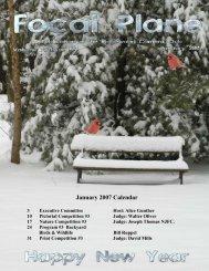 January 2007 - Ridgewood Camera Club