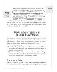 prompts that guide students to use the general reading ... - Scholastic