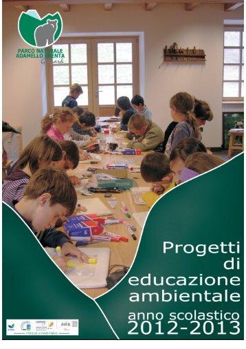 Proposte di Educazione Ambientale per le Scuole del Parco
