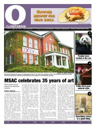 MSAC celebrates 35 years of art - The Ontarion