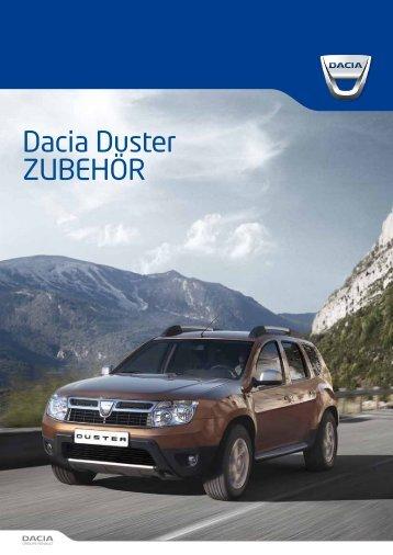Dacia Duster ZUBEHÖR