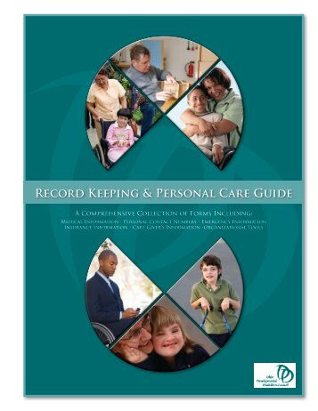 Record Keeping & Personal Care Guide - Ohio Developmental ...