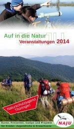 NAJU-Jahresprogramm 2014 - Naturschutzjugend Thüringen