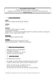 WAS SIND DAS FÜR SACHEN Paroles - Académie de Nancy-Metz