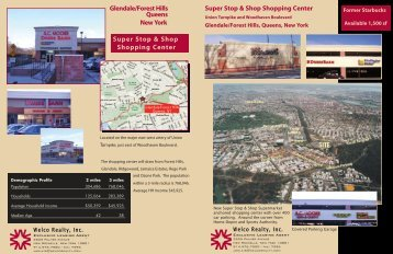 Glendale/Forest Hills, Queens, New York - Welco Realty, Inc.