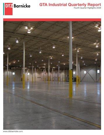 GTA Industrial Quarterly Report - DTZ