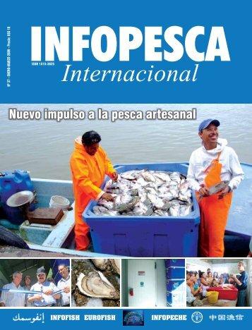 Revista Infopesca Internacional, que trata sobre avances del Proyecto