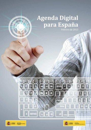 Agenda Digital para España [PDF] [500,37 KB]