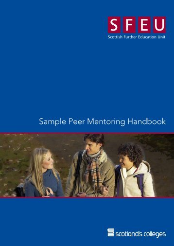Download - Sample Peer Mentoring Handbook - Mentorsme