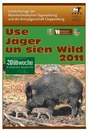 Jagdbeilage 2011 - Jägerschaft Cloppenburg